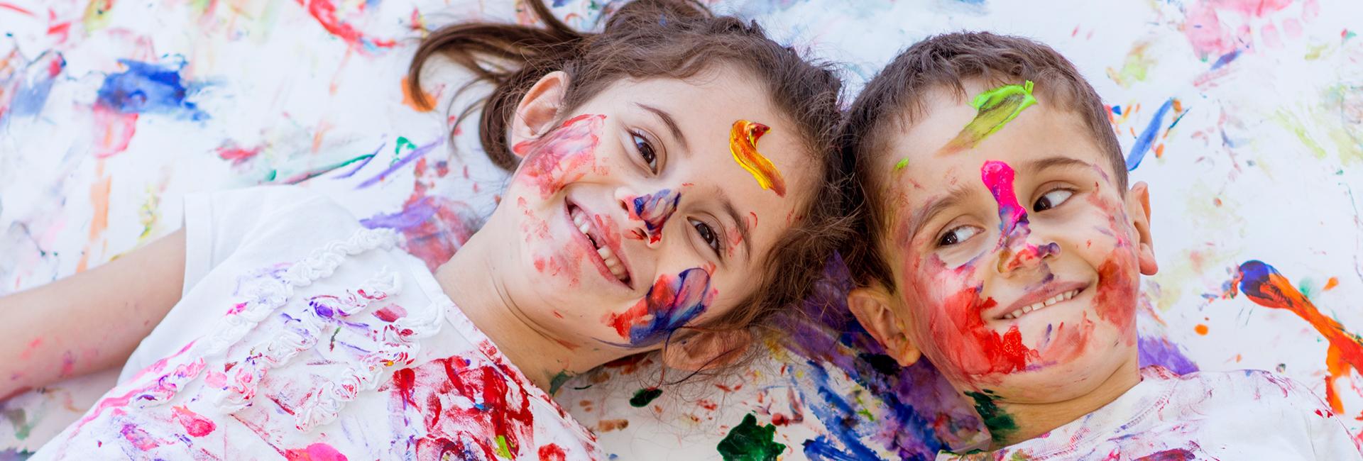 Kinder und Kunst - ein Projekt der DRK Kita Herford